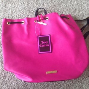 Juicy couture backpack bag